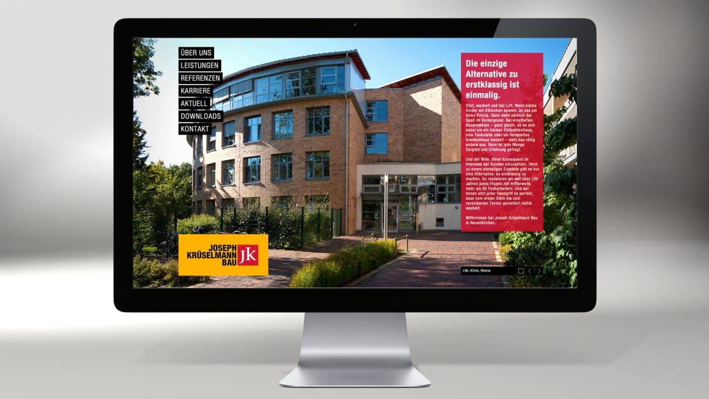 Krueselmann website 06 1 - Markenauftritt mit Charakter für eine Marke mit Persönlichkeit – Corporate Design, Logoentwicklung, Grafikdesign, Webdesign, Kommunikationsdesign, Branding, Markenentwicklung, Werbetechnik