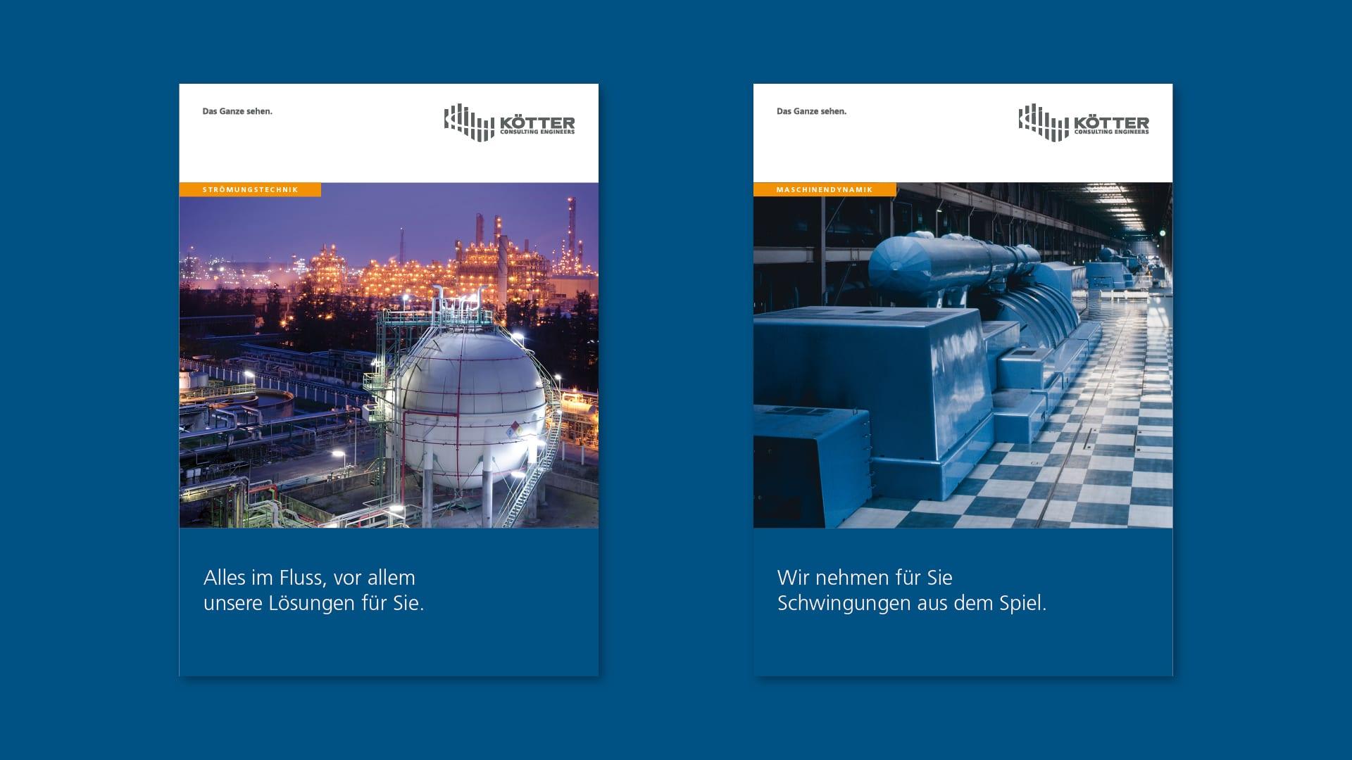 KCE Titelseiten Praes Aufb v01 - Spezialisten für Schwingungen treffen auf Experten für Corporate Design – Corporate Design, Grafikdesign, Kommunikationsdesign, Branding, Markenentwicklung, Editorial Design