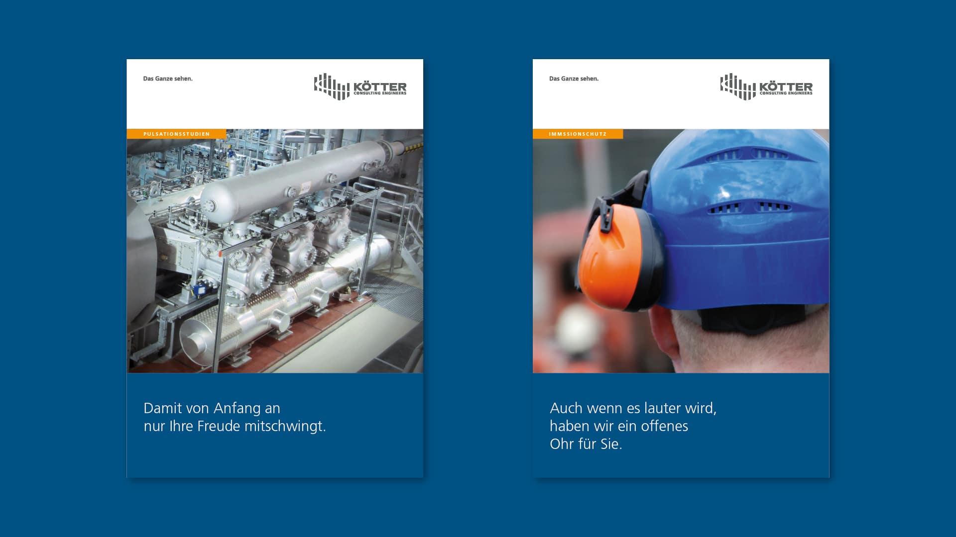 KCE Titelseiten Praes Aufb v012 - Spezialisten für Schwingungen treffen auf Experten für Corporate Design – Corporate Design, Grafikdesign, Kommunikationsdesign, Branding, Markenentwicklung, Editorial Design