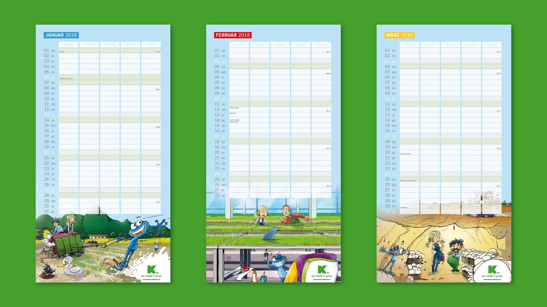 KD Familienplaner Praes Aufb v01 1 - Ein Kalender geht um die Welt – Corporate Design, Grafikdesign, Kommunikationsdesign, Branding, Markenentwicklung, Illustration