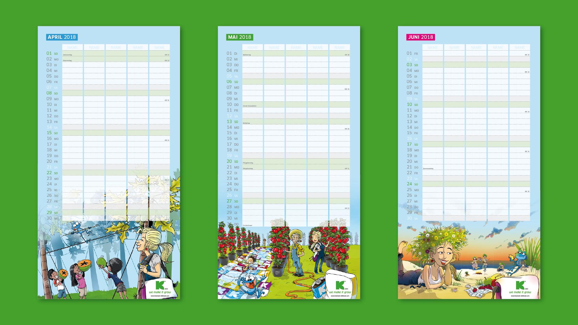 KD Familienplaner Praes Aufb v012 1 - Ein Kalender geht um die Welt – Corporate Design, Grafikdesign, Kommunikationsdesign, Branding, Markenentwicklung, Illustration