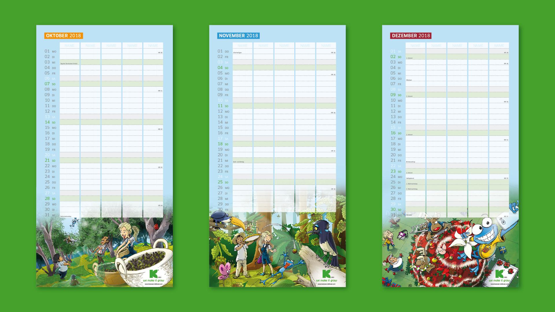 KD Familienplaner Praes Aufb v014 1 - Ein Kalender geht um die Welt – Corporate Design, Grafikdesign, Kommunikationsdesign, Branding, Markenentwicklung, Illustration