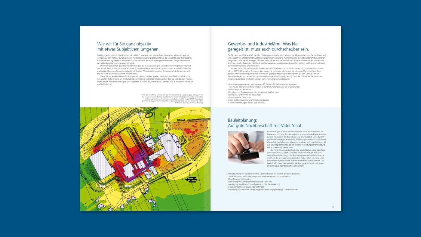 kce innenseiten 01 - Spezialisten für Schwingungen treffen auf Experten für Corporate Design – Corporate Design, Grafikdesign, Kommunikationsdesign, Branding, Markenentwicklung, Editorial Design