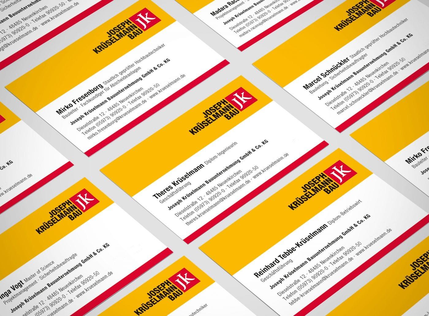 krueselmann vk 01 - Markenauftritt mit Charakter für eine Marke mit Persönlichkeit – Corporate Design, Logoentwicklung, Grafikdesign, Webdesign, Kommunikationsdesign, Branding, Markenentwicklung, Werbetechnik