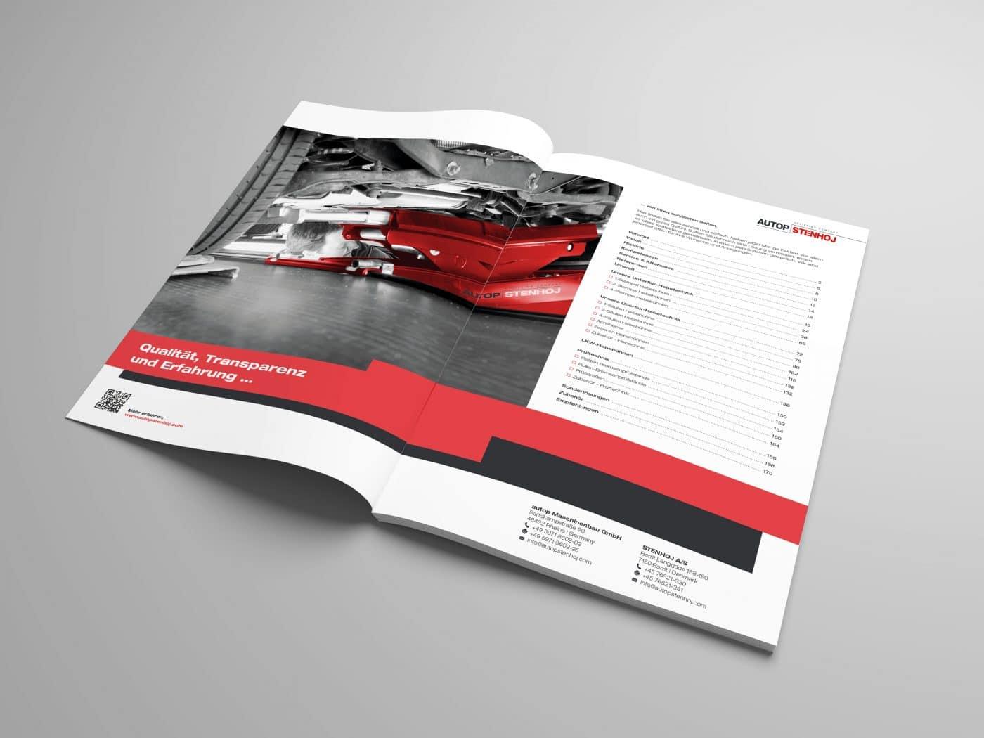 autop broschuere 2 - Eine Marke auf dem Weg nach oben – Corporate Design, Grafikdesign, Kommunikationsdesign, Branding, Markenentwicklung, Editorial Design