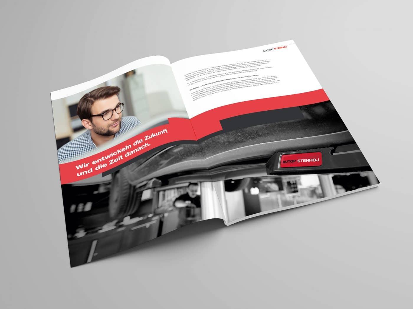 autop broschuere 3 - Eine Marke auf dem Weg nach oben – Corporate Design, Grafikdesign, Kommunikationsdesign, Branding, Markenentwicklung, Editorial Design