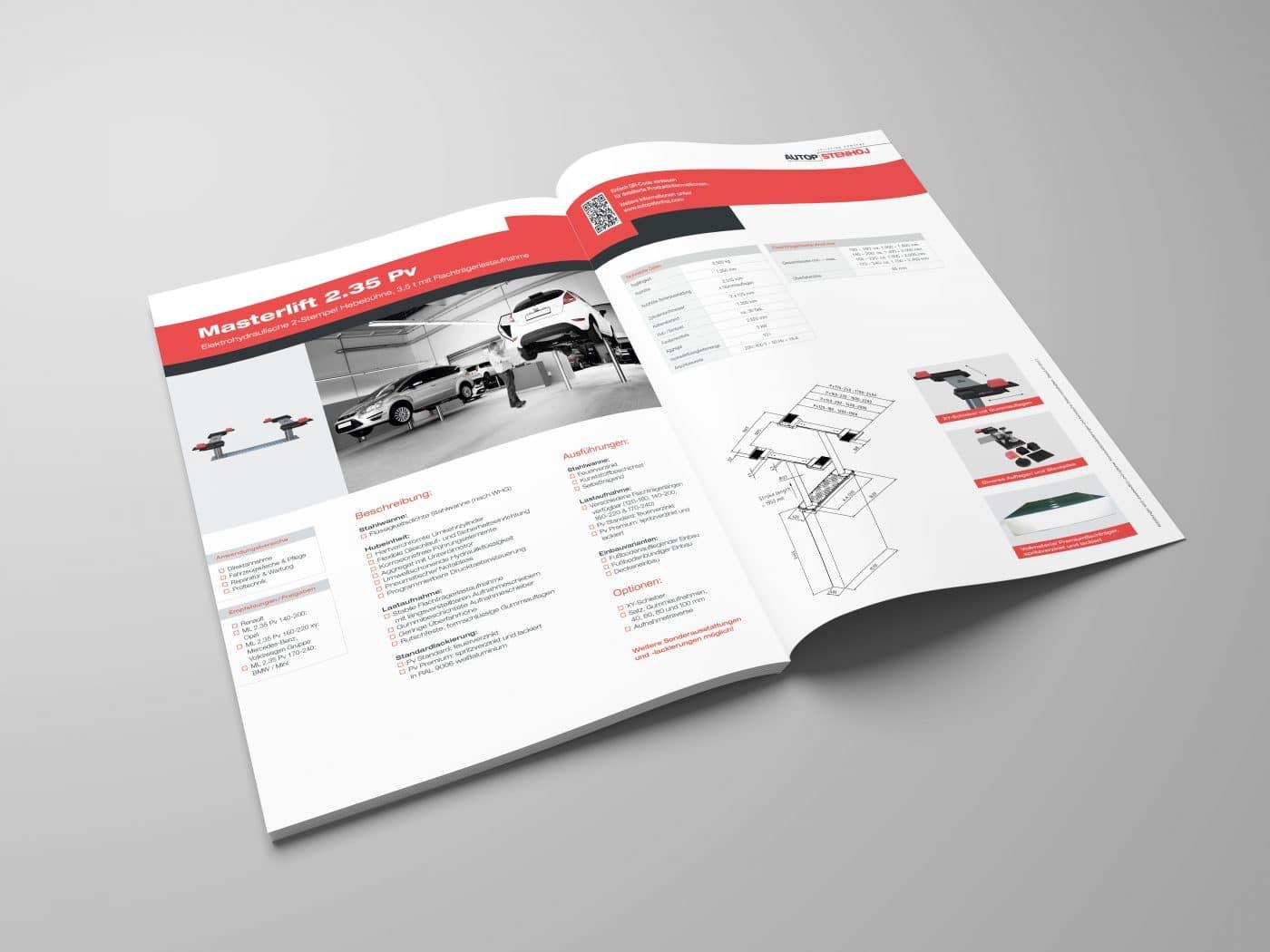 autop broschuere 4 1 - Eine Marke auf dem Weg nach oben – Corporate Design, Grafikdesign, Kommunikationsdesign, Branding, Markenentwicklung, Editorial Design