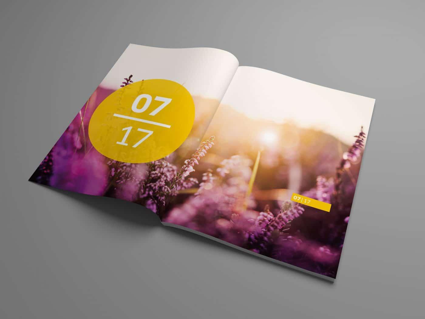 kd jahrbuch 04 - Ein rundum gelungenes Mitarbeiterjahrbuch – Corporate Design, Grafikdesign, Kommunikationsdesign, Branding, Markenentwicklung, Editorial Design