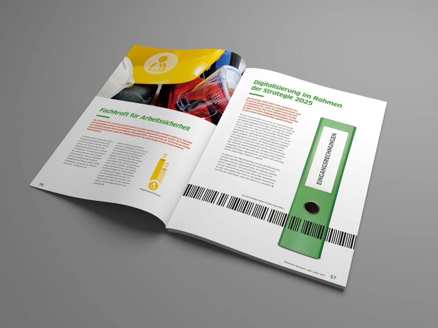 kd jahrbuch 07 - Ein rundum gelungenes Mitarbeiterjahrbuch – Corporate Design, Grafikdesign, Kommunikationsdesign, Branding, Markenentwicklung, Editorial Design