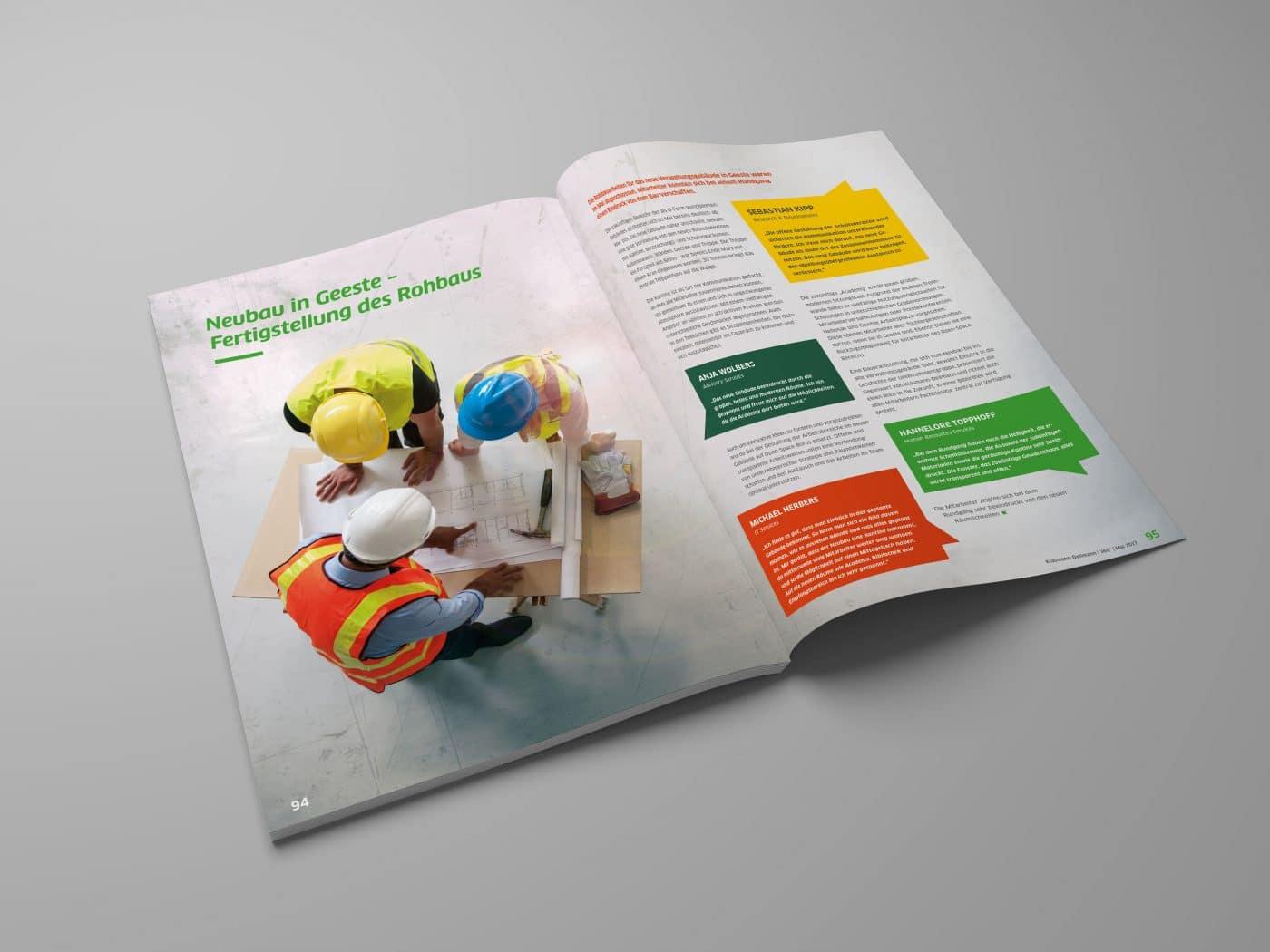 kd jahrbuch 08 - Ein rundum gelungenes Mitarbeiterjahrbuch – Corporate Design, Grafikdesign, Kommunikationsdesign, Branding, Markenentwicklung, Editorial Design