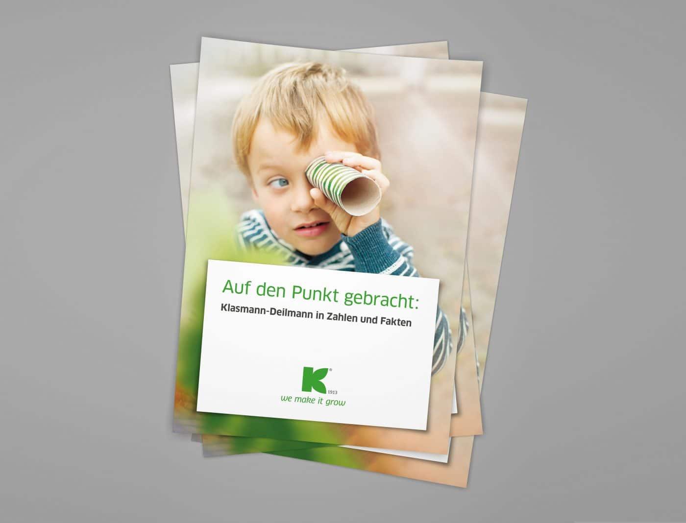 kd zahlen fakten 01 - Eine ganze Broschüre auf den Punkt gebracht – Corporate Design, Grafikdesign, Kommunikationsdesign, Markenentwicklung, Editorial Design
