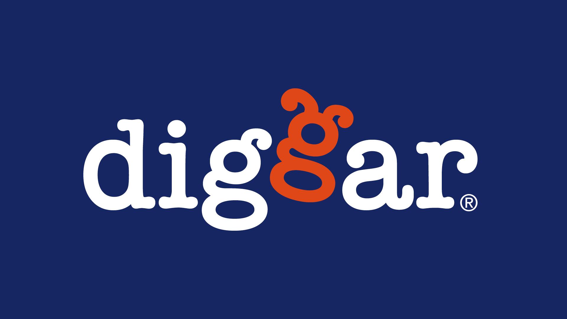 diggar logo 03 - Ein Logo mit Wau-Effekt – Corporate Design, Logoentwicklung, Grafikdesign, Kommunikationsdesign, Branding