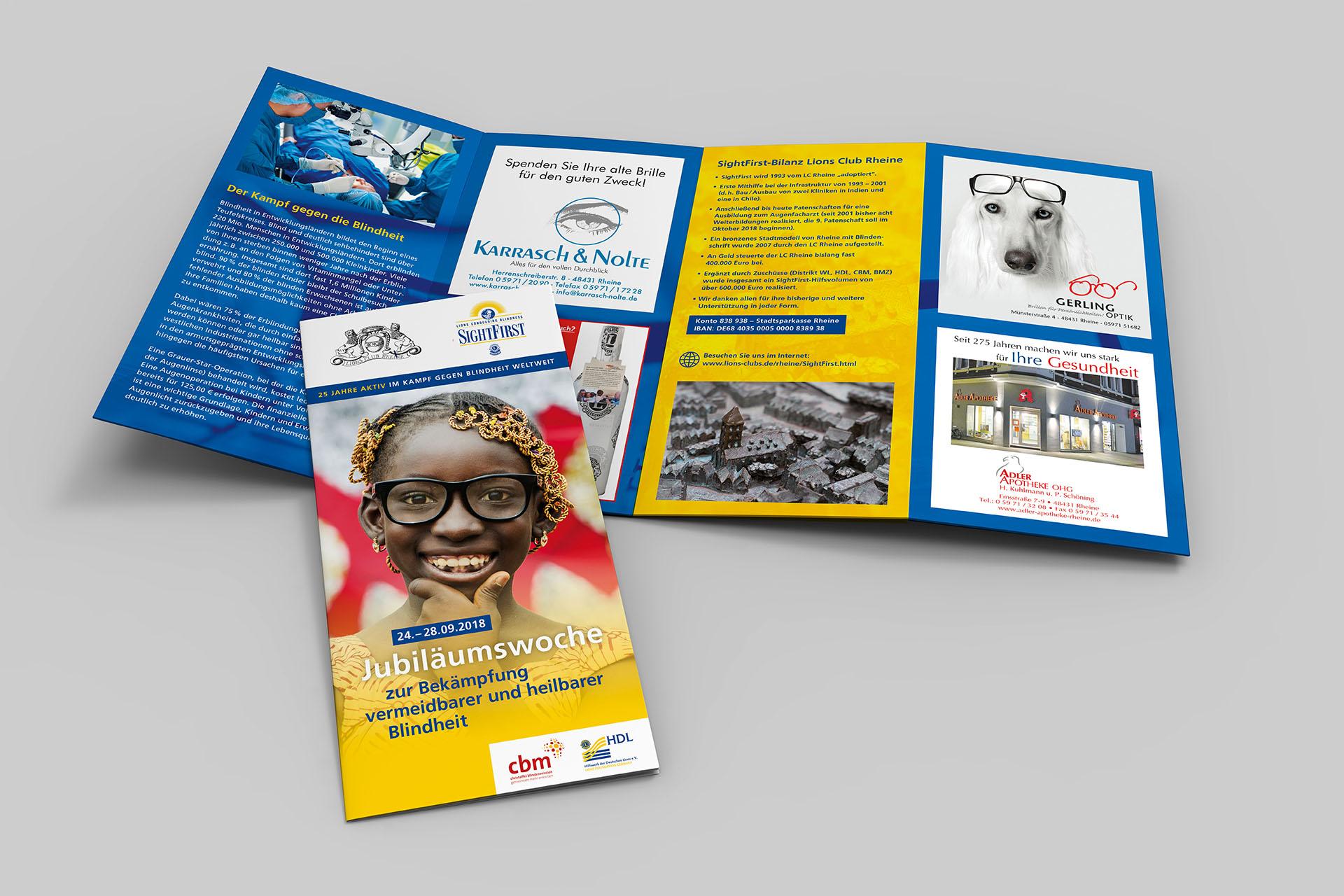 lions jubilaeumswoche 02 - Lions Club Rheine: 100 Prozent Aufmerksamkeit für 75 Prozent vermeidbare Blindheit –