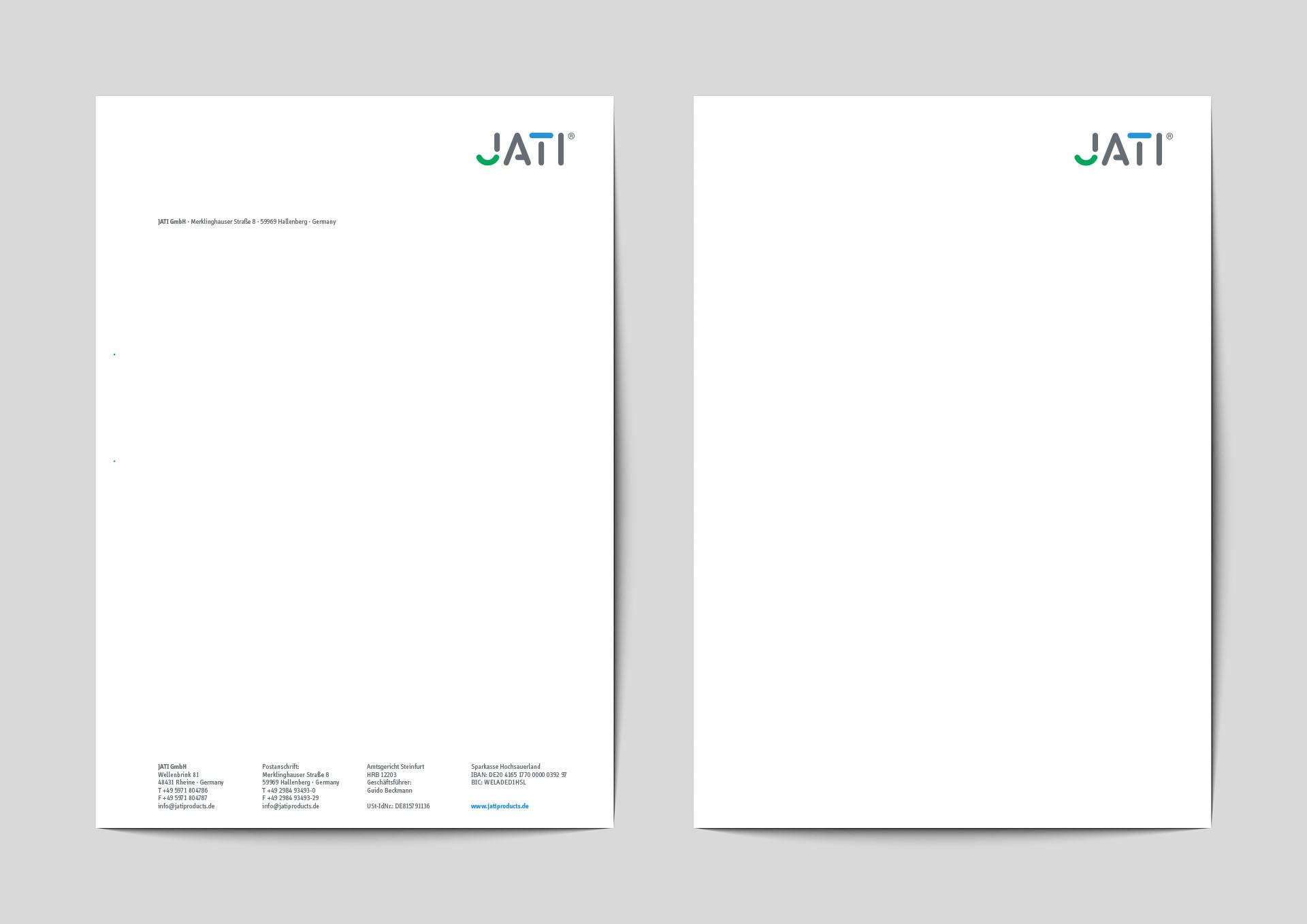 jati produktbroschuere bb - Dem Schimmel sei Dank: Ein ganz frischer Markenauftritt für JATI – Corporate Design, Logoentwicklung, Grafikdesign