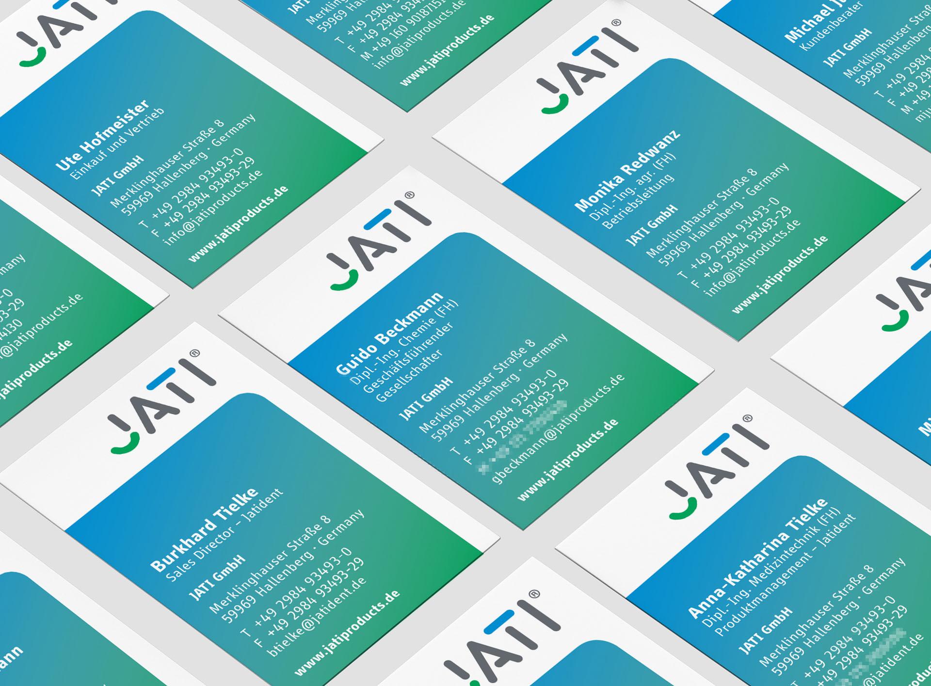 jati produktbroschuere vk - Dem Schimmel sei Dank: Ein ganz frischer Markenauftritt für JATI – Corporate Design, Logoentwicklung, Grafikdesign