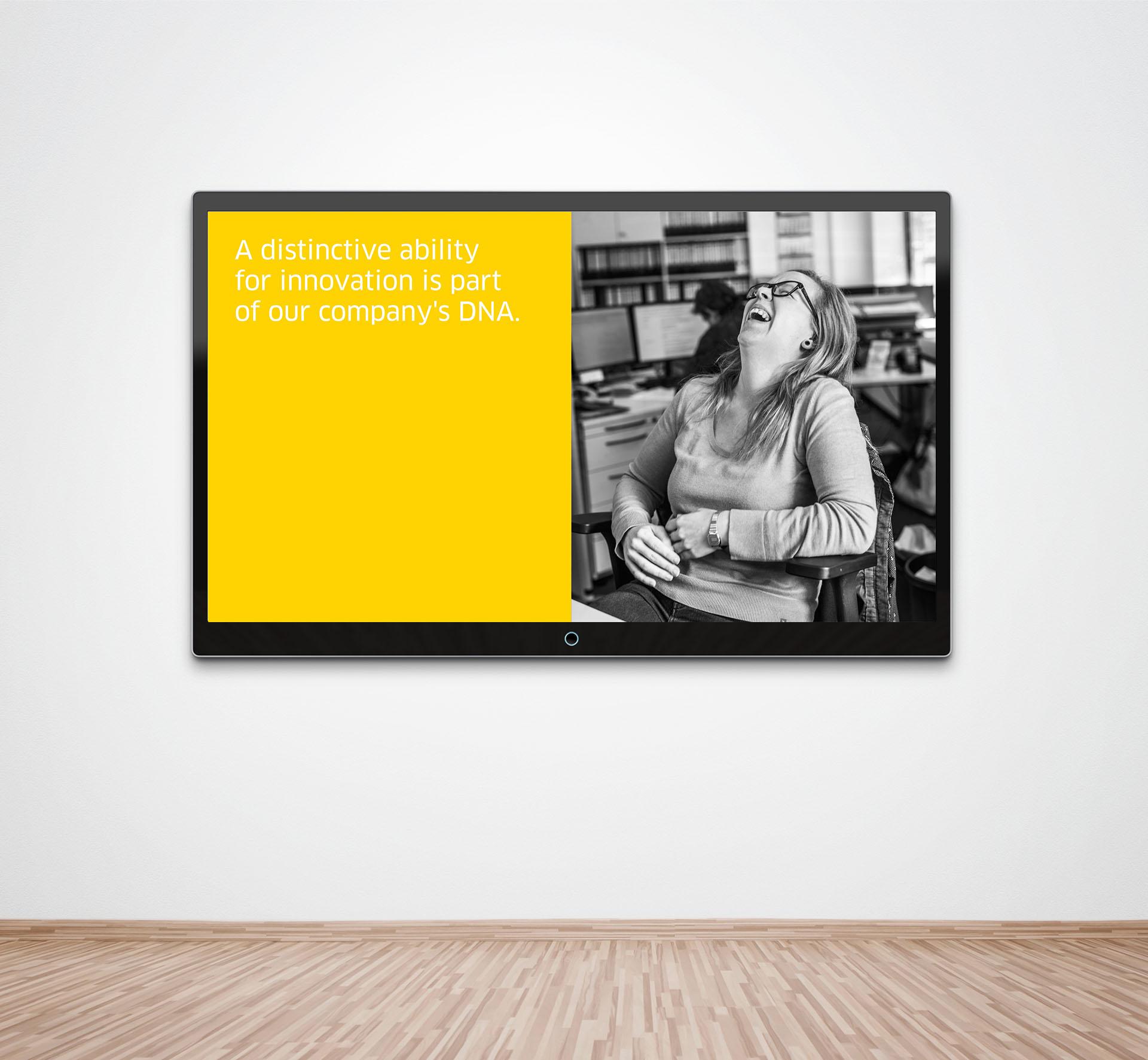 KD Animation Mockup 07 - Werbung für einen Hidden Champion? Will doch keiner hören. Aber sehen. – Corporate Design, Grafikdesign, Kommunikationsdesign, Markenentwicklung, Mediendesign