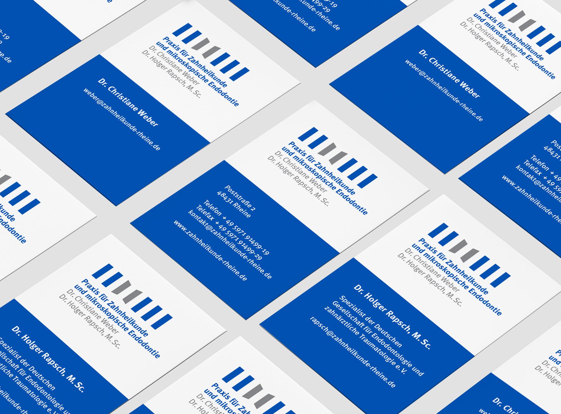 praxis weber rapsch 03 - Mehr Zähne zeigen – ohne Zähne zu zeigen – Corporate Design, Logoentwicklung, Grafikdesign, Webdesign, Kommunikationsdesign, Branding, Markenentwicklung