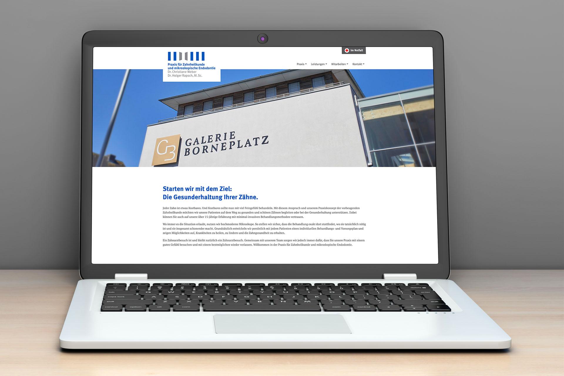 praxis weber rapsch 06 - Mehr Zähne zeigen – ohne Zähne zu zeigen – Corporate Design, Logoentwicklung, Grafikdesign, Webdesign, Kommunikationsdesign, Branding, Markenentwicklung