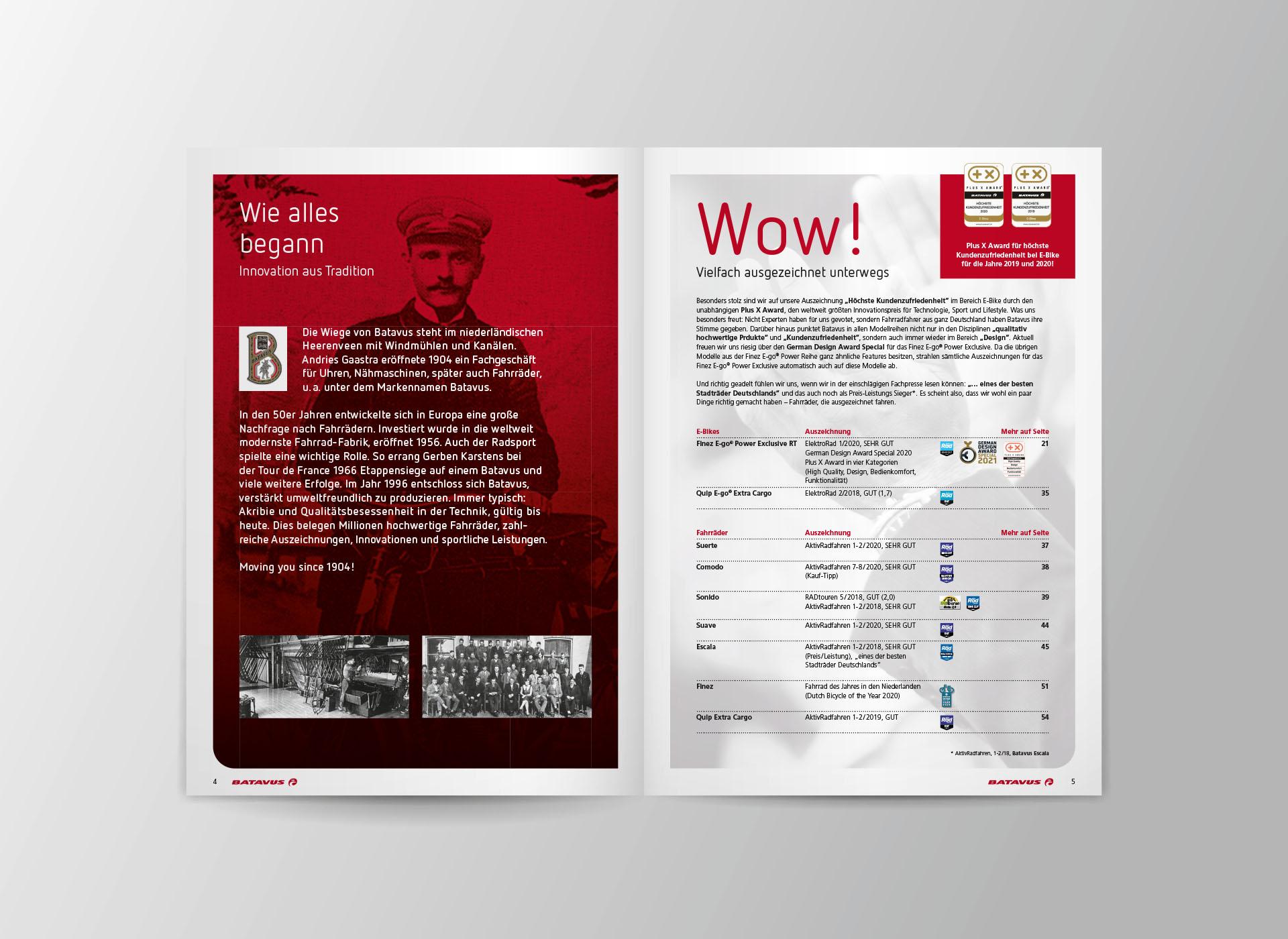 batavus produktkatalog 2021 03 - Fachlich fest im Sattel: Der Batavus Produktkatalog 2021 – Corporate Design, Grafikdesign, Kommunikationsdesign, Branding, Markenentwicklung, Editorial Design