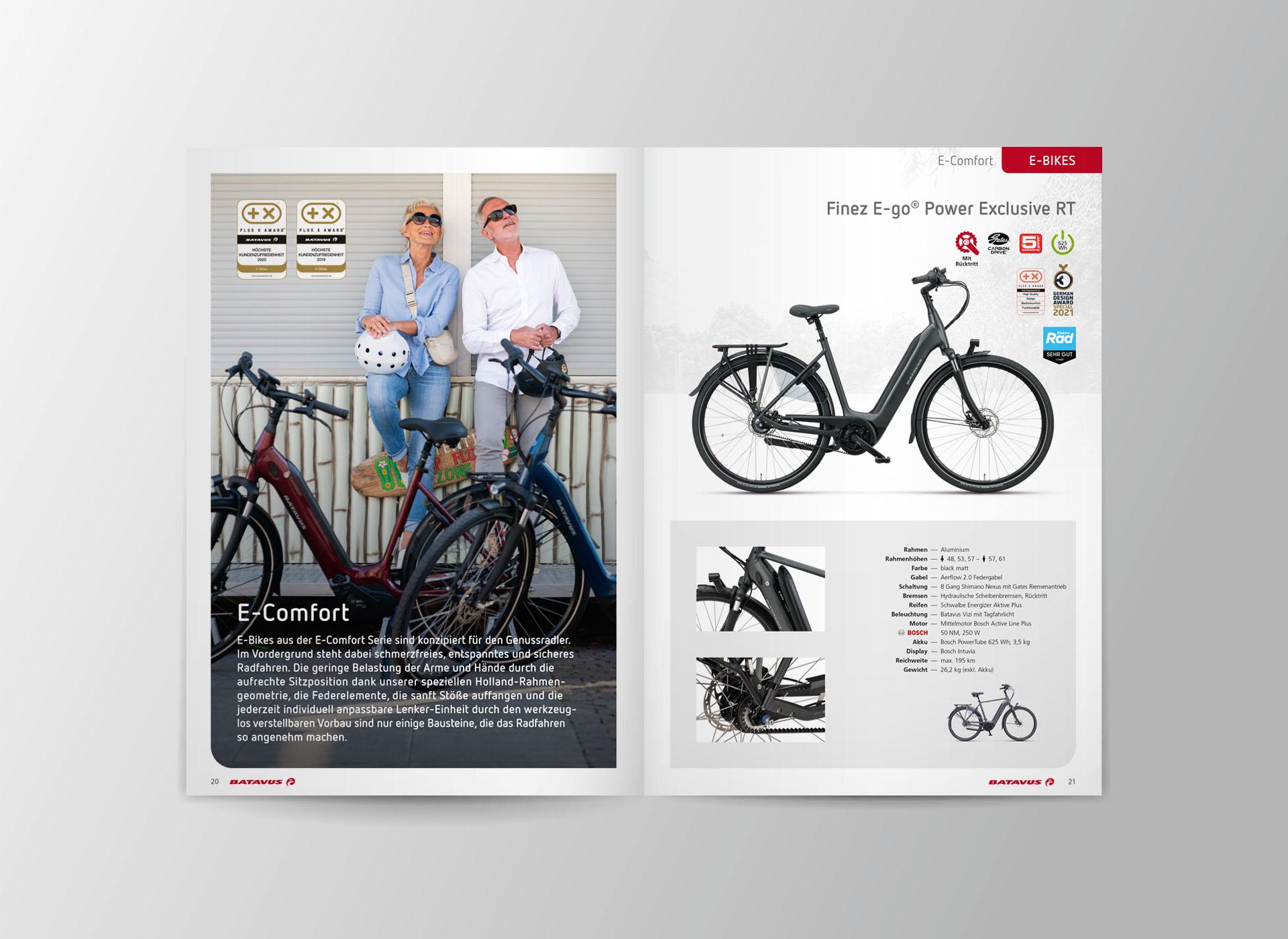 batavus produktkatalog 2021 05 - Fachlich fest im Sattel: Der Batavus Produktkatalog 2021 – Corporate Design, Grafikdesign, Kommunikationsdesign, Branding, Markenentwicklung, Editorial Design
