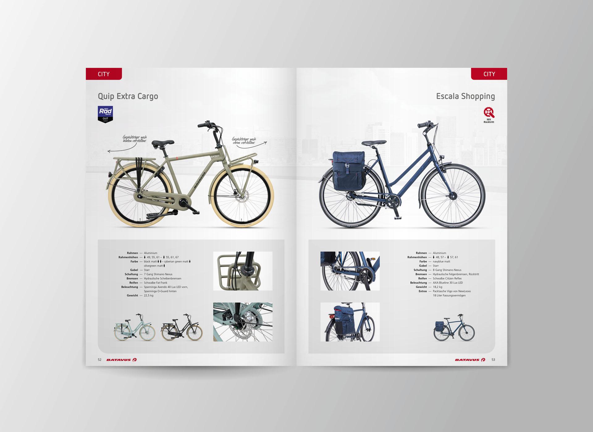 batavus produktkatalog 2021 06 - Fachlich fest im Sattel: Der Batavus Produktkatalog 2021 – Corporate Design, Grafikdesign, Kommunikationsdesign, Branding, Markenentwicklung, Editorial Design